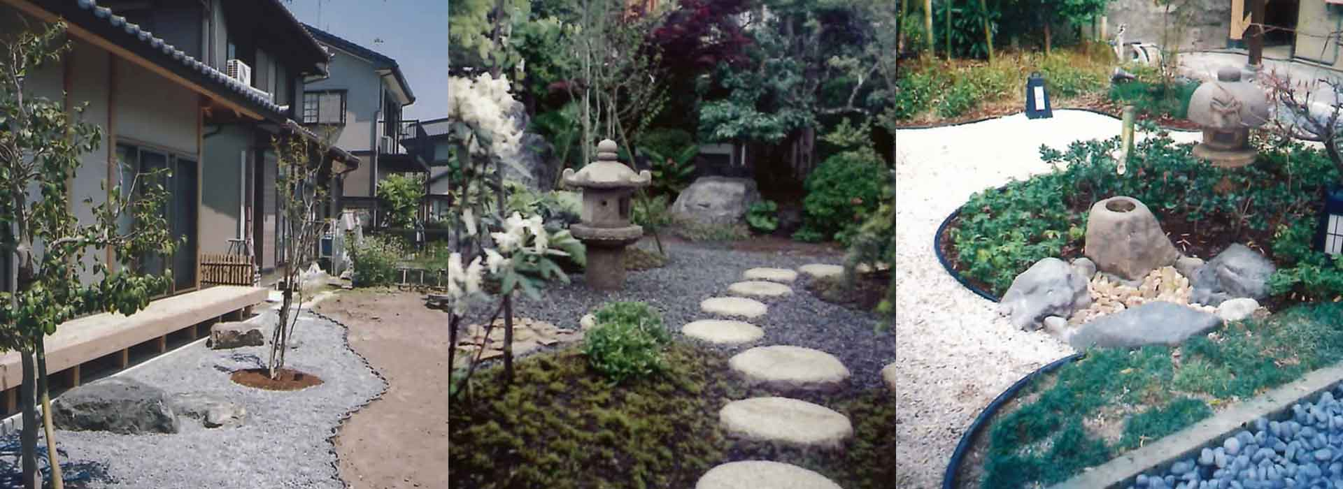 純和風・洋風・欧風・モダン・テラスガーデンなどお好みの庭造りをいたします。